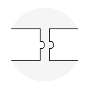 XDUR: dettaglio spigolo M-F