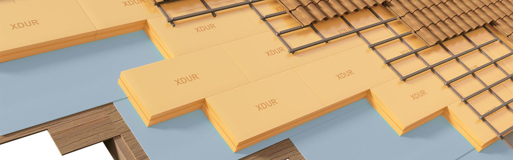 XDUR: tetto a faldo in legno